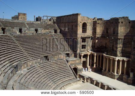 Roman Amphitheatre/amphitheater, In  Bosra, Syria