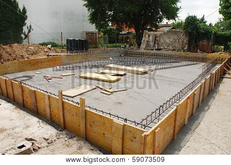 House Foundation Preparation