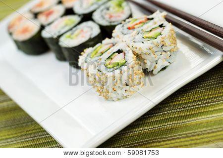 Fresh Sushi California Roll