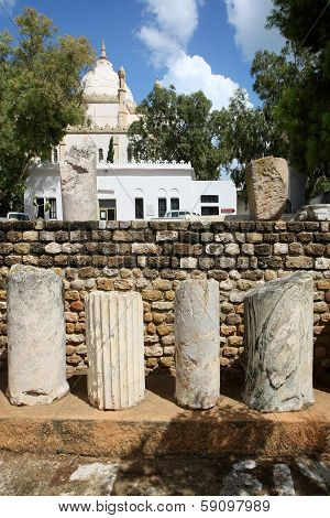 Ruins Of Carthage In Tunis