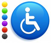 Disabled Icon on Round Button Collection poster