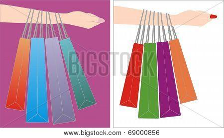 Handling Shopping Bag
