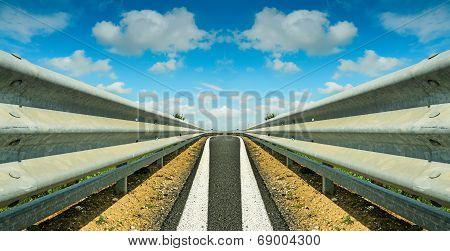 Symmetrical Guardrail