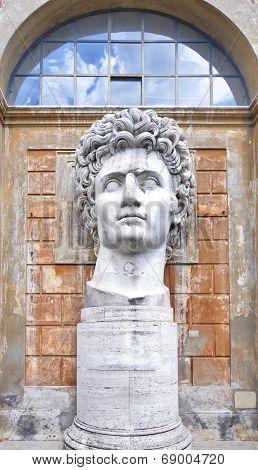 Gaius Julius Caesar Augustus statue