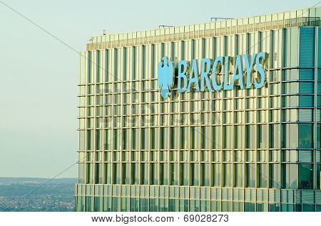 Barclays tower, Canary Wharf