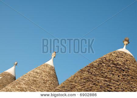 Alberobello, Trulli Roofs