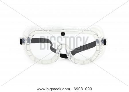 Protective goggles.