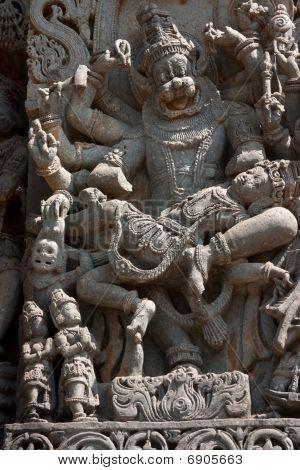 Narasimha Statue