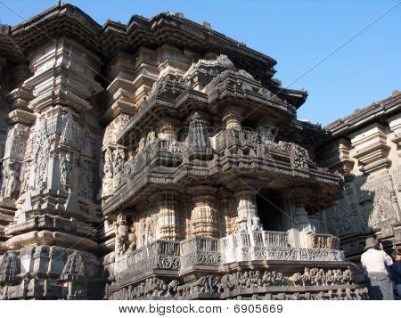 Temple Carving Details