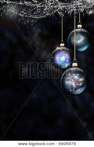 Space Christmas Baubles