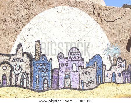 Graffiti egipcio
