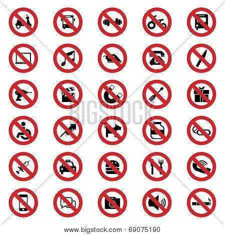 Prohobited Sign