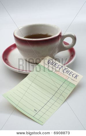 Coffee And The Check