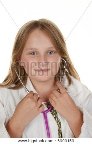 Young Girl Wants To Be A Doctor