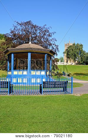 Abbey Gardens, Evesham.