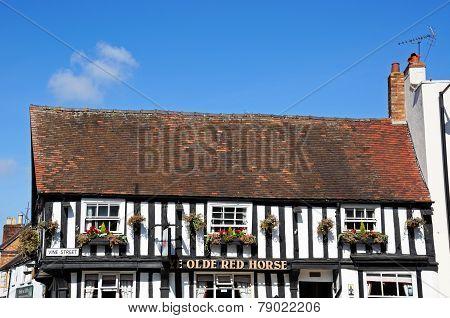 Ye Olde Red Horse Pub, Evesham.