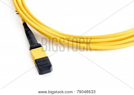 Ribbon Fiber Optic Patchcord With Connector Mtp