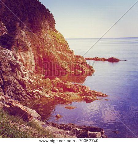 Beautiful Instagram Of Scenic Coast Line in summer