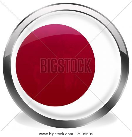 button flag of japan