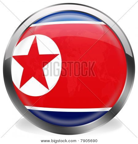 button of north korea