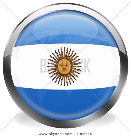 button flag of argentina
