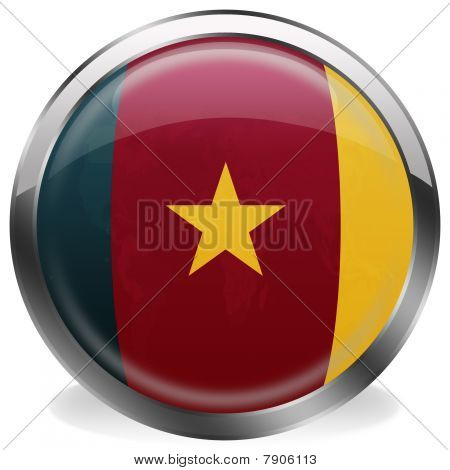 button flag of cameroon