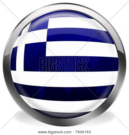 button flag of greece