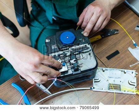 Welding Of Optical Cable