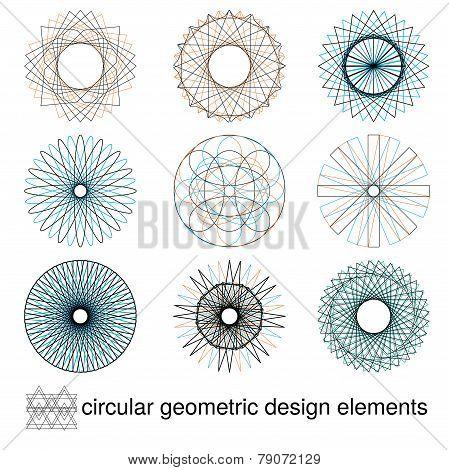 Geometric Circular Designs