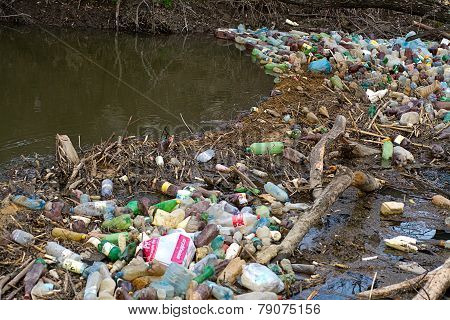 Household Waste Contaminated River Water