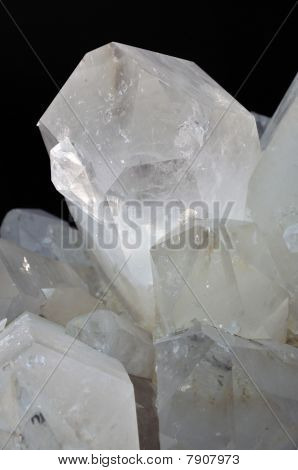 Rock Crystal Or Quartz