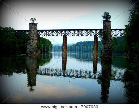Railroad Bridge over the Potomac