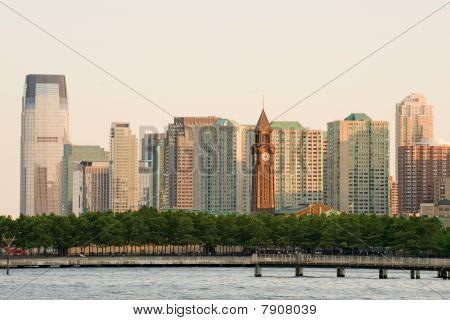 Hoboken clock tower