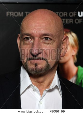 LOS ANGELES - DEC 15:  SIR BEN KINGSLEY arrives to the