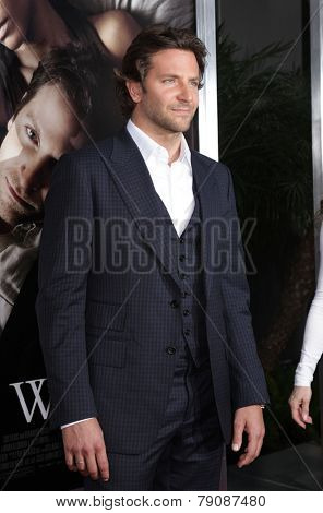 LOS ANGELES - SEP 12:  Bradley Cooper arrives to the