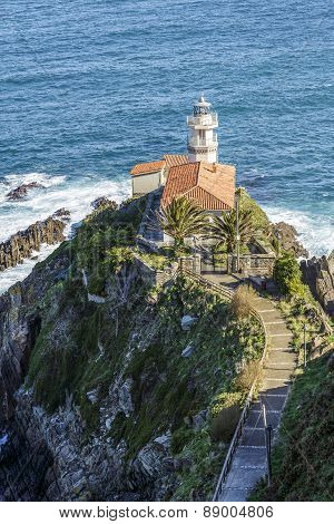 Lighthouse Of Cudillero, Asturias