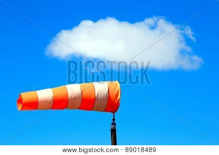 Windsock Against The Sky