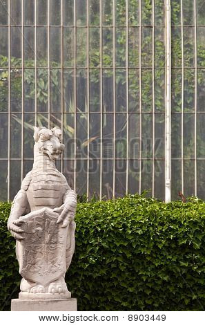 Dragon By The Conservatory