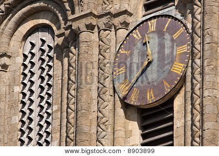 Old Cathedral Clock