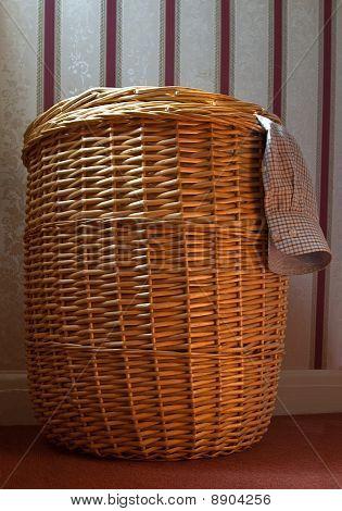 Overflowing Washing Basket