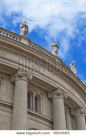 Columns Of Catholic Cathedral