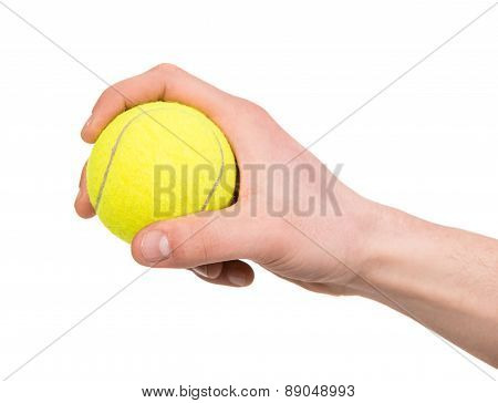 Hand With A Ball