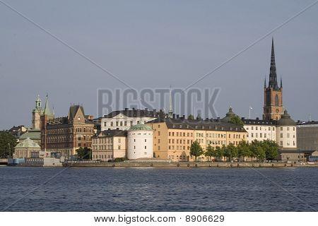 Old City Of Stockholm
