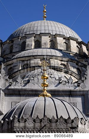 New Mosque, Istanbul, Turkey.