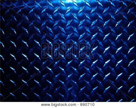 Blue Diamond Plate