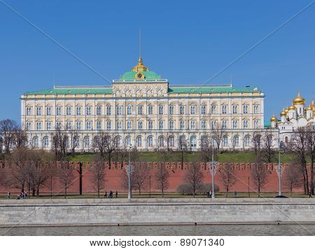 Beautiful Grand Kremlin Palace