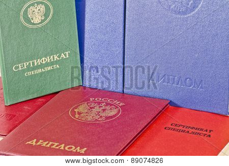The Diplomas And Professional Certificates