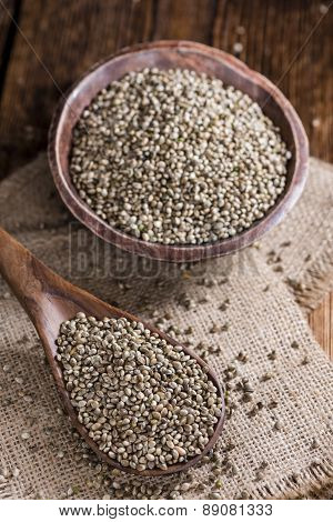 Some Hemp Seeds