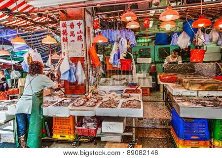 Hong Kong Historic Landmark: Graham Street Wet Market