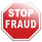 stop fraud bride and political or police corruption money corrupt cyber or internet crime poster